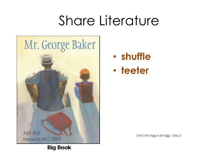 Share Literature