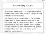 accounting issues2