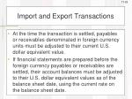 import and export transactions1