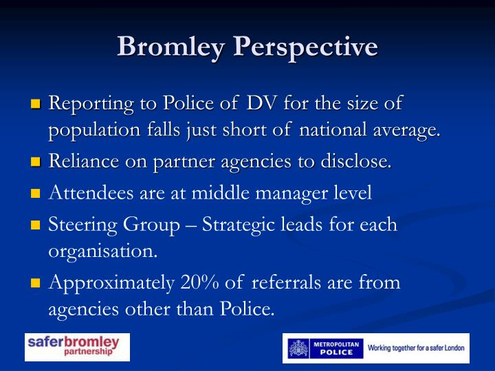 Bromley Perspective