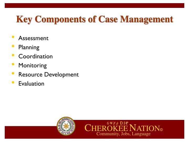 Key Components of Case Management