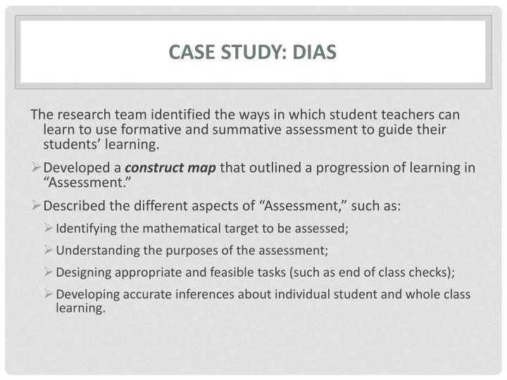 Case study: DIAS