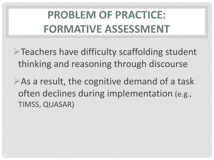 Problem of Practice: