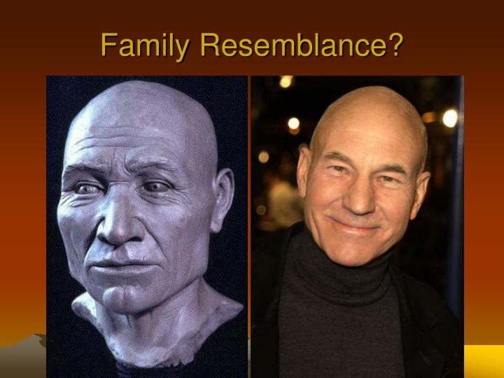 Family Resemblance?