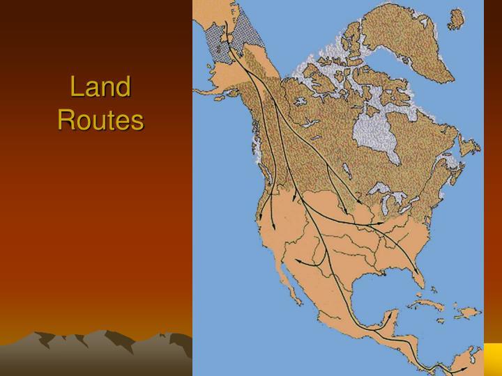 Land Routes