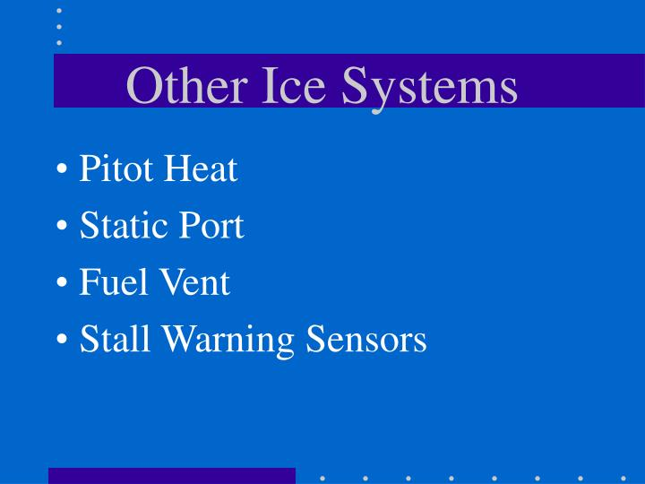 Other Ice Systems