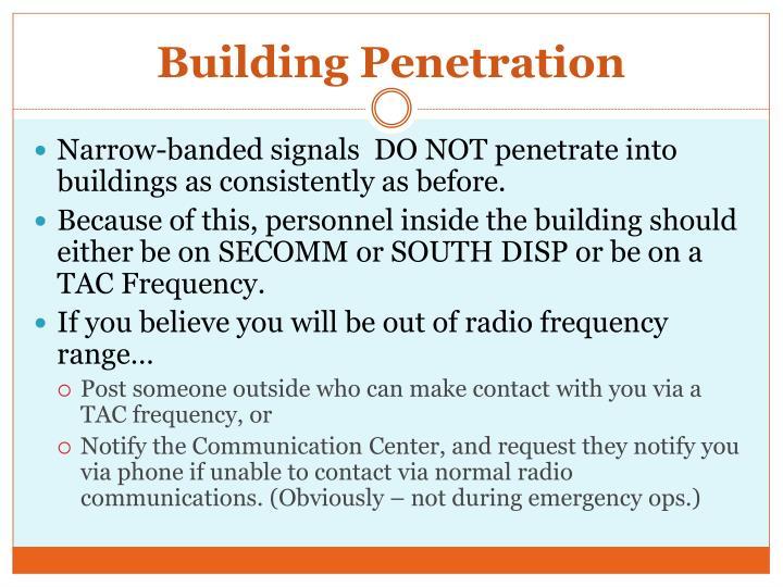 Building Penetration