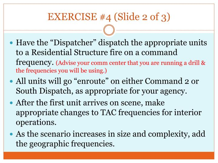 EXERCISE #4 (Slide 2 of 3)