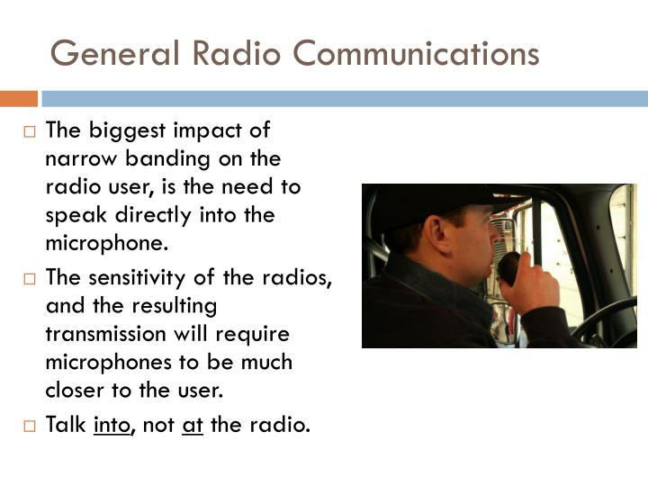 General Radio Communications