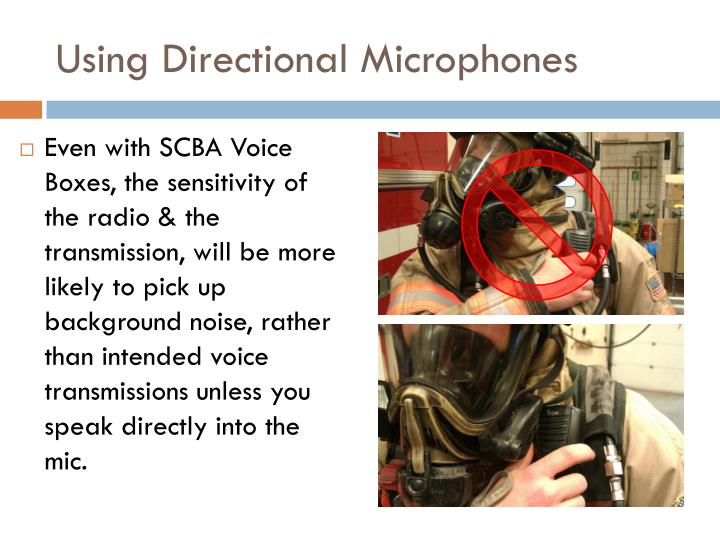 Using Directional Microphones
