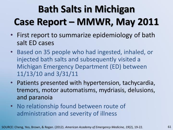Bath Salts in Michigan