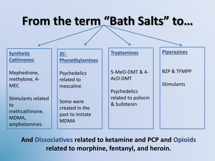 "From the term ""Bath Salts"" to…"