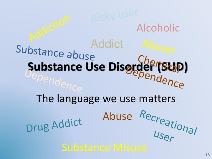 Substance Use Disorder (SUD)