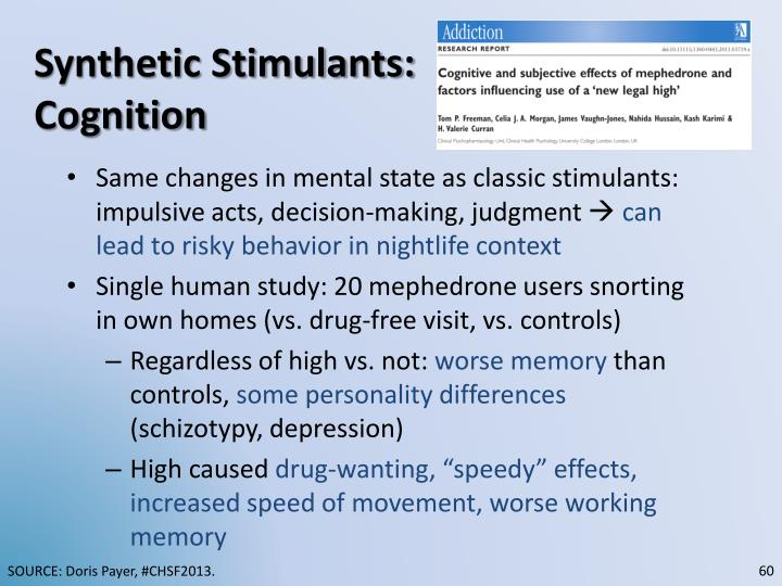 Synthetic Stimulants: