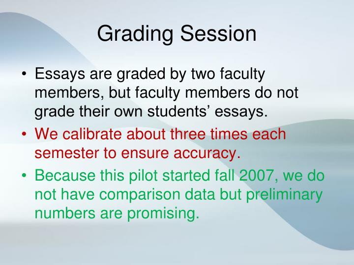 Grading Session