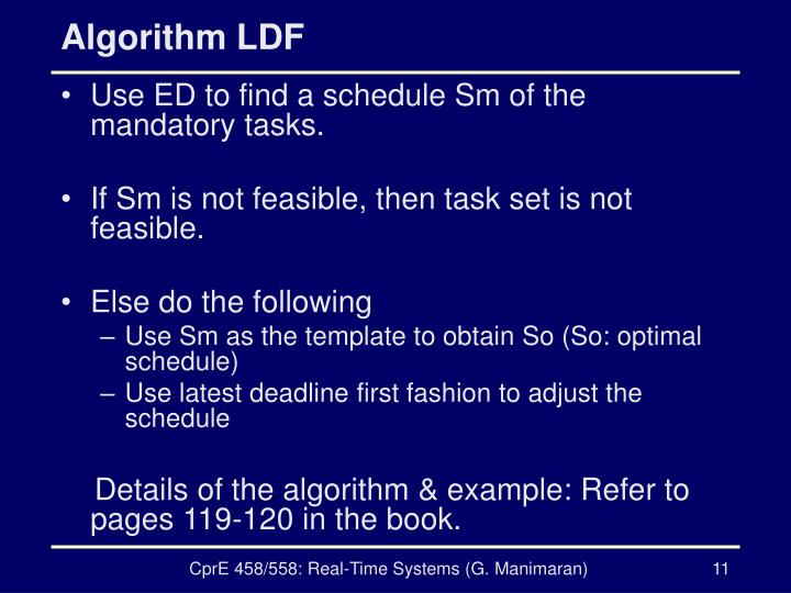 Algorithm LDF