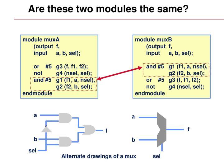 module muxA