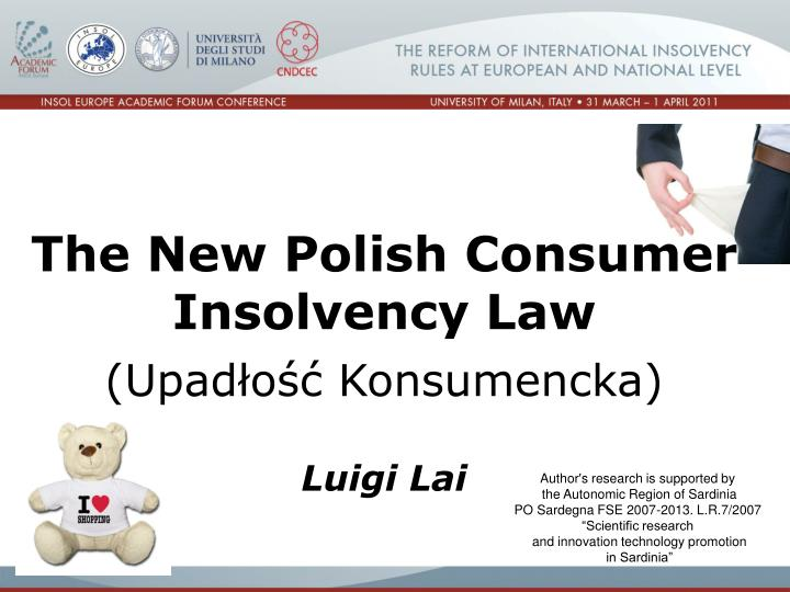 The New Polish Consumer Insolvency Law