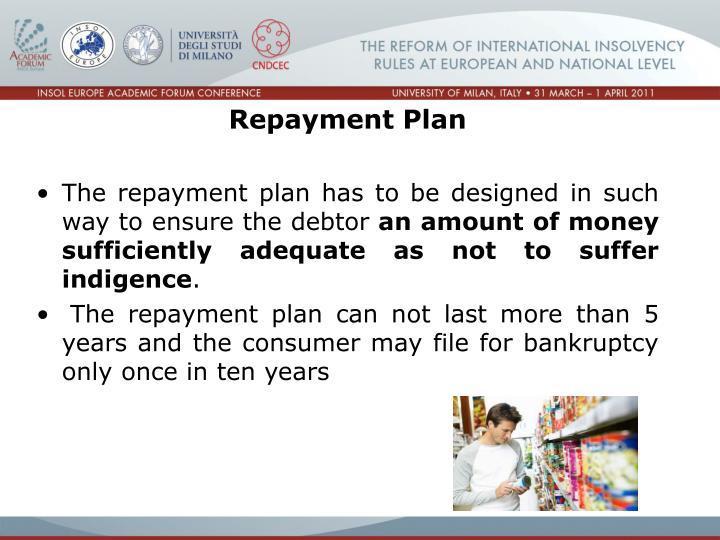 Repayment Plan