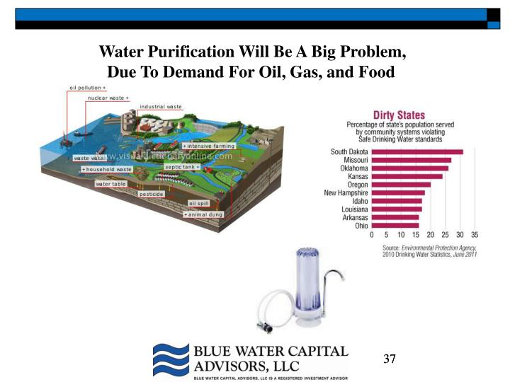 Water Purification Will Be A Big Problem,