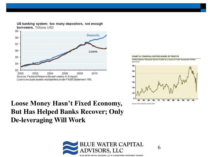 Loose Money Hasn't Fixed Economy,