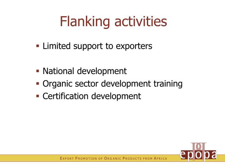 Flanking activities