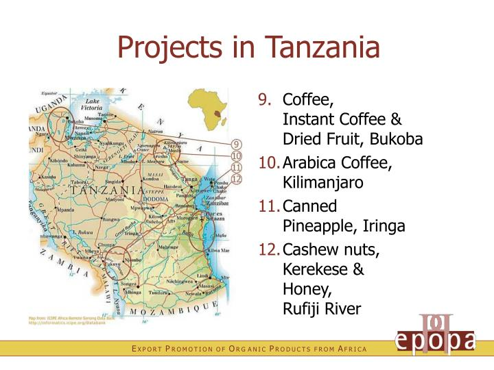 Projects in Tanzania