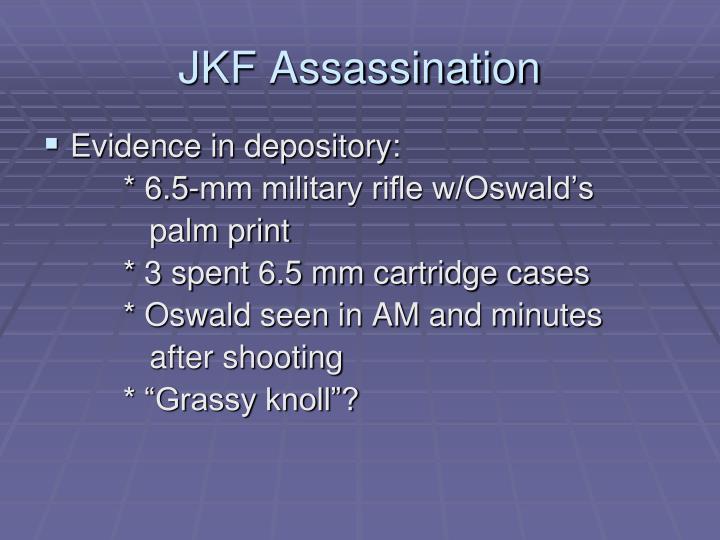 JKF Assassination