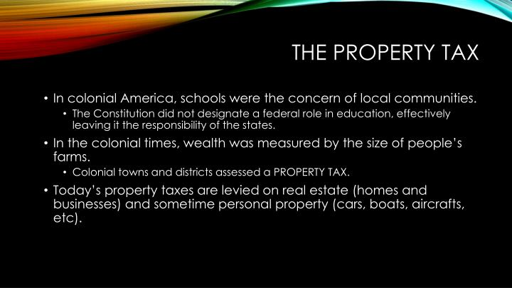 The Property Tax