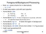 foreground background processing1