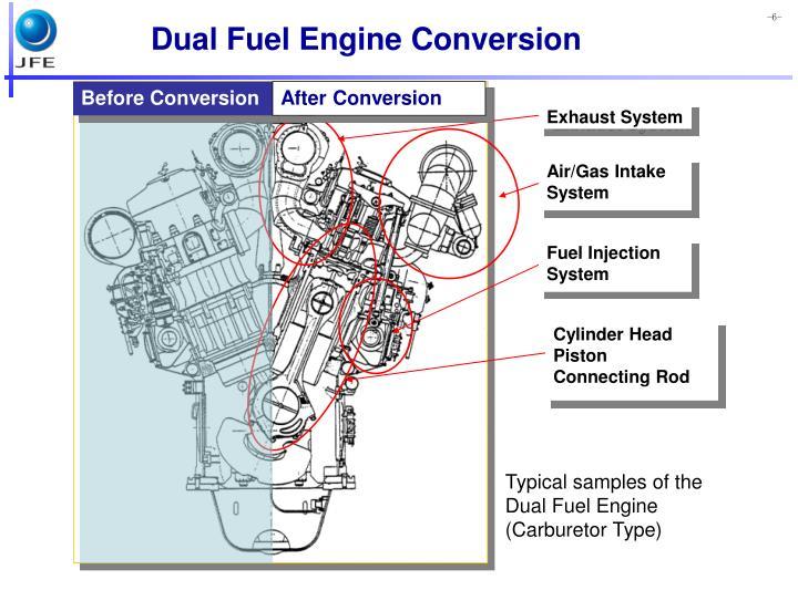 Dual Fuel Engine Conversion