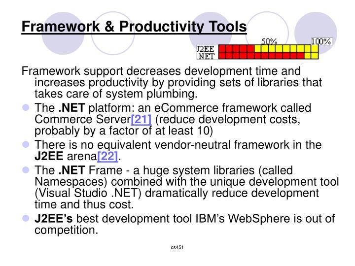 Framework & Productivity Tools