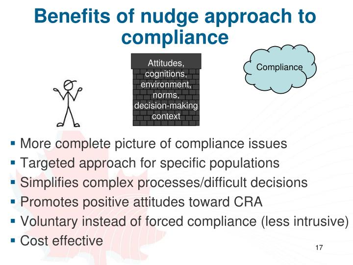 Benefits of nudge