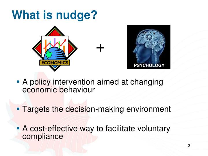 What is nudge?