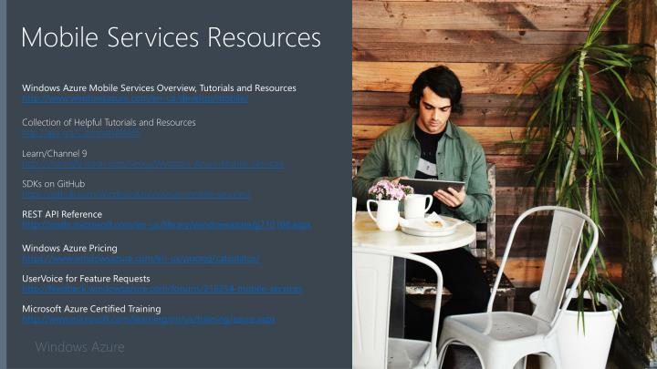 Mobile Services Resources