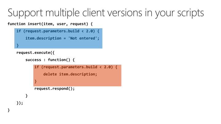 Support multiple client versions in your scripts