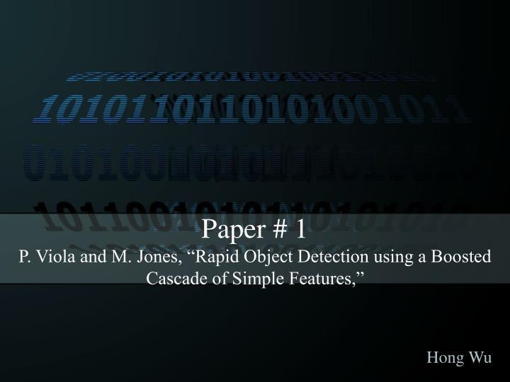 Paper #