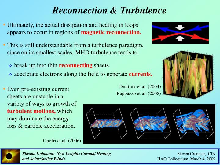 Reconnection & Turbulence
