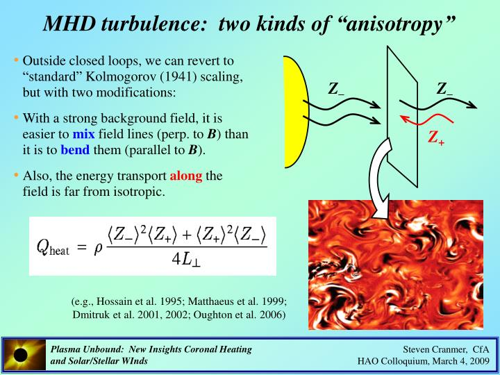 "MHD turbulence:  two kinds of ""anisotropy"""