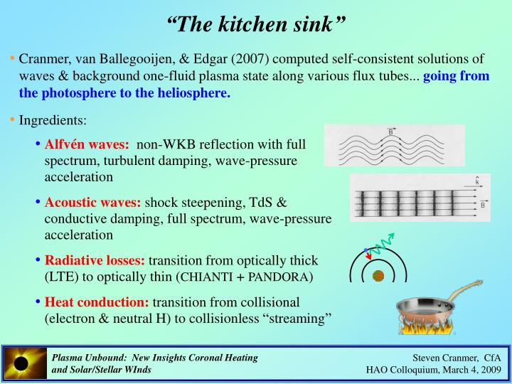 """The kitchen sink"""