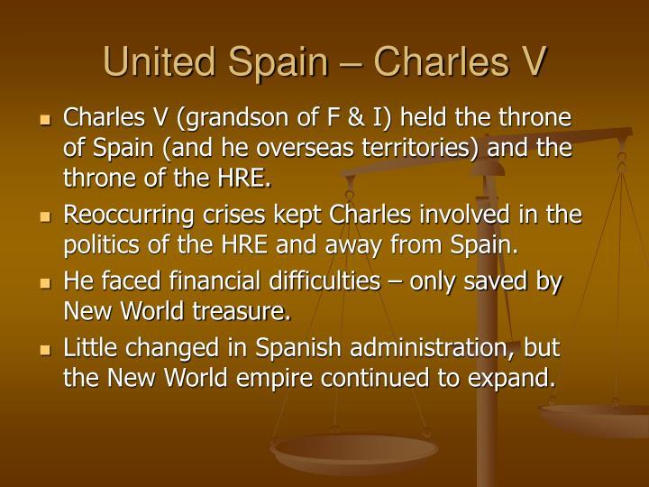 United Spain – Charles V