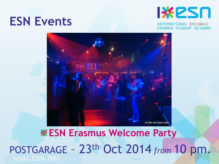 ESN Events