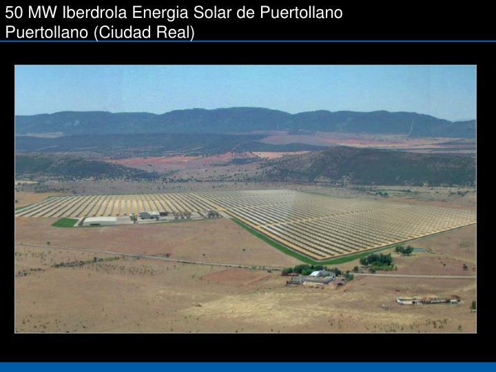 50 MW Iberdrola Energia Solar de Puertollano