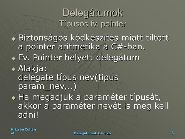Delegátumok