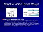 structure of the hybrid design1
