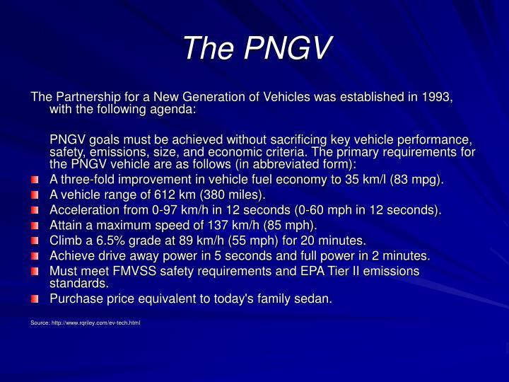 The PNGV