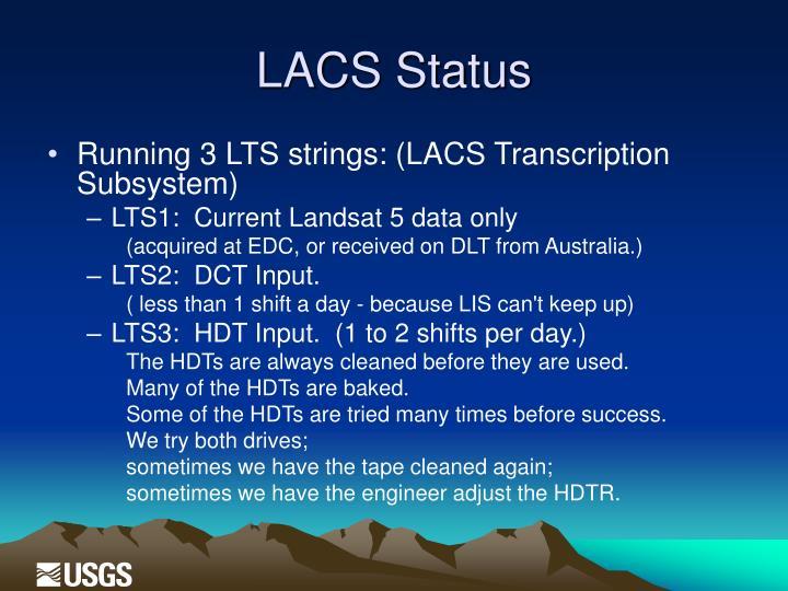 LACS Status
