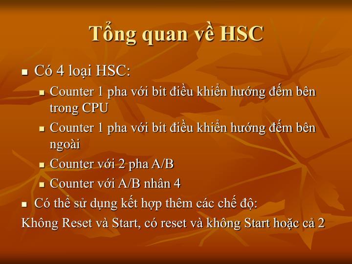 Tổng quan về HSC