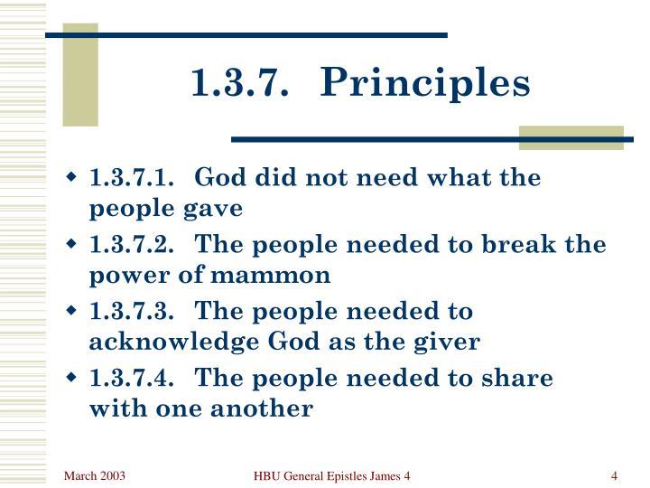 1.3.7.Principles