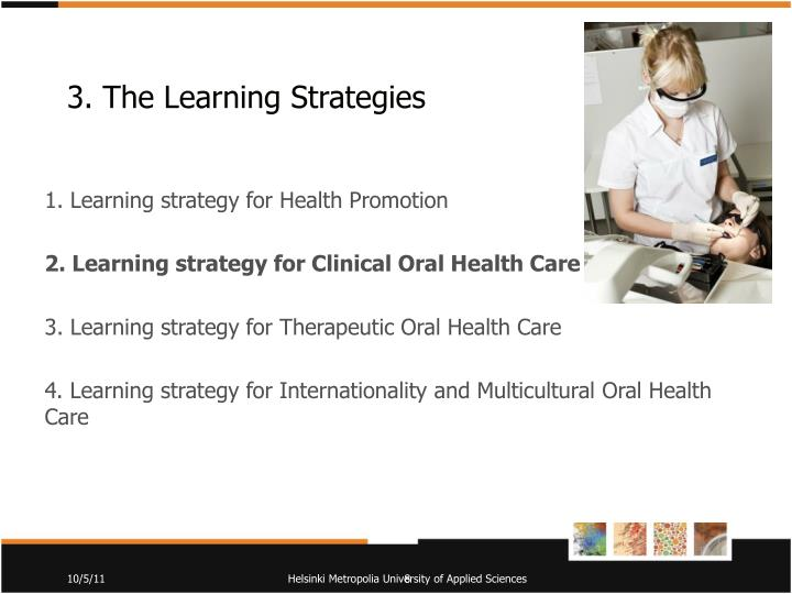3. The Learning
